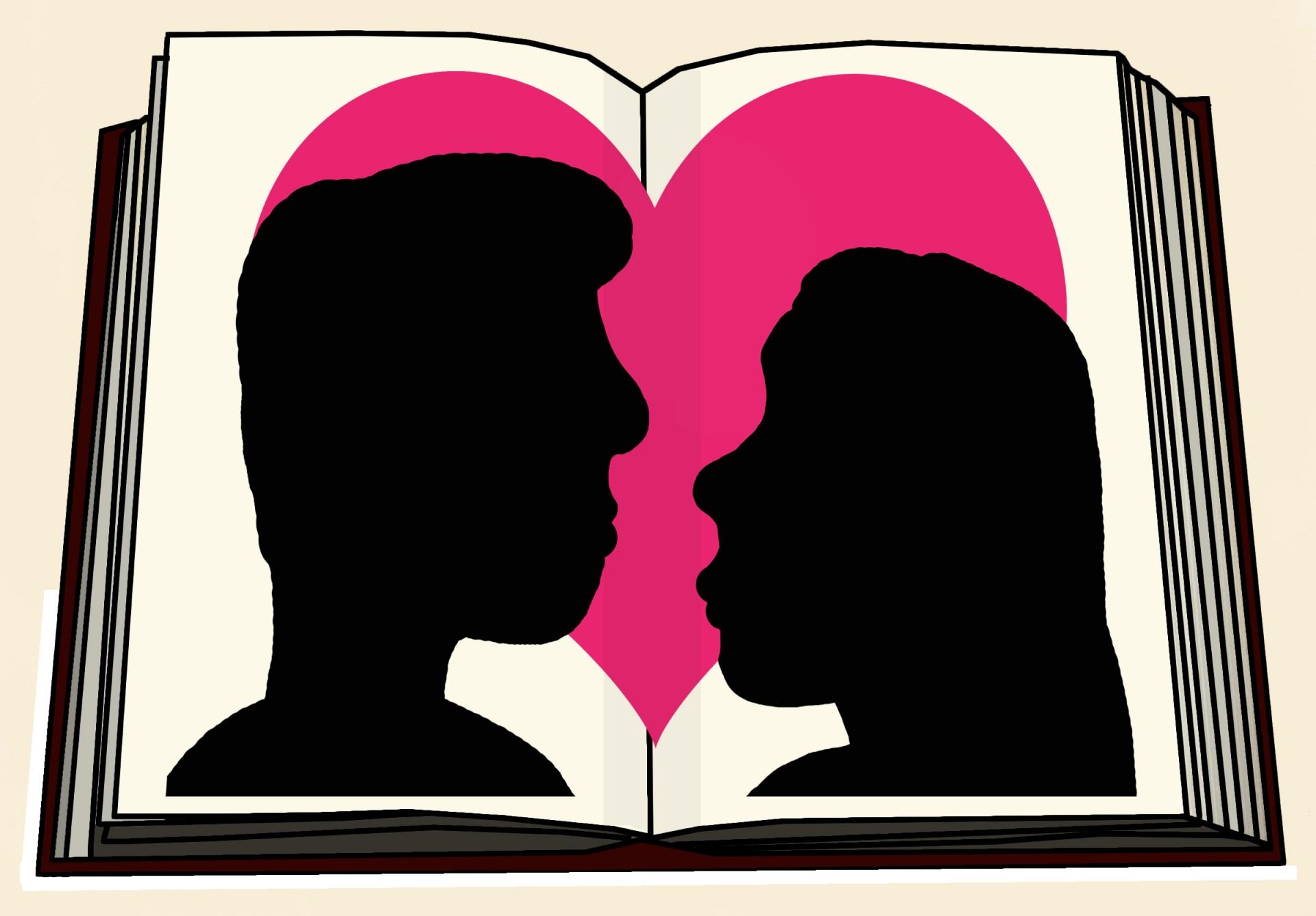 Knowledge clipart romance novel. Clip art of a