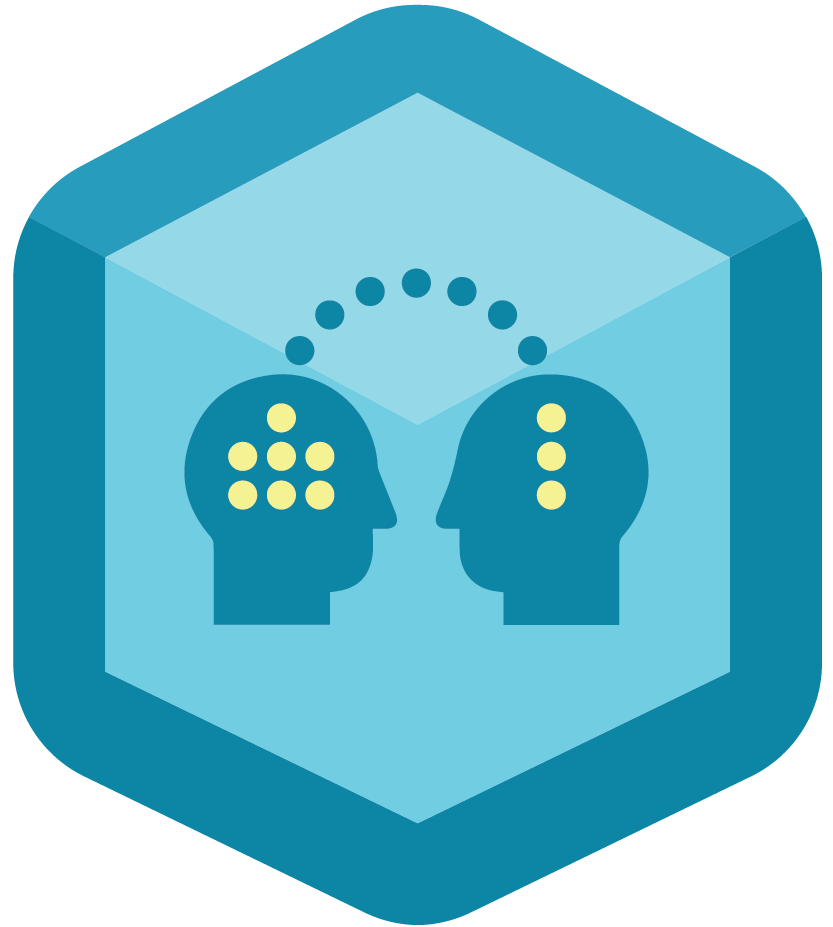 Knowledge vector. Free sharing icon download