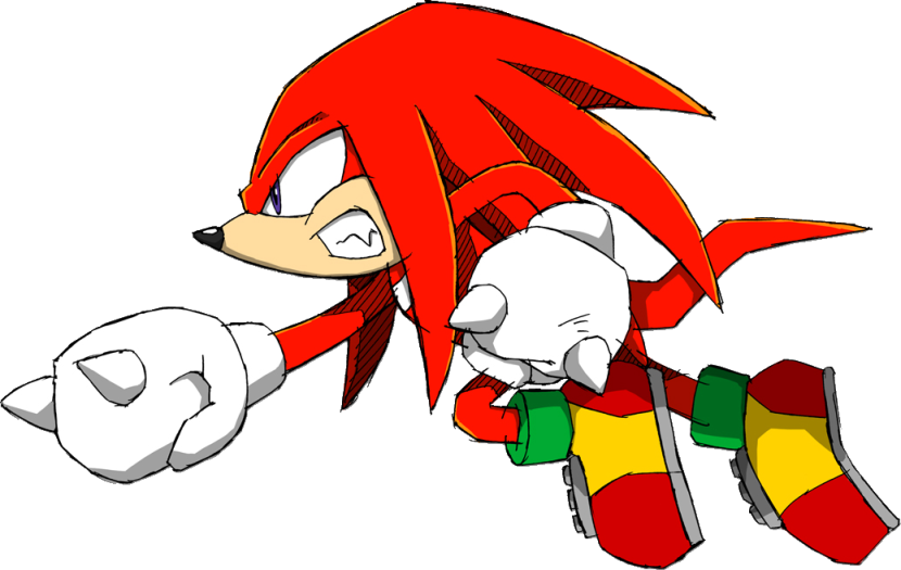 Knuckles glide png. Character giant bomb