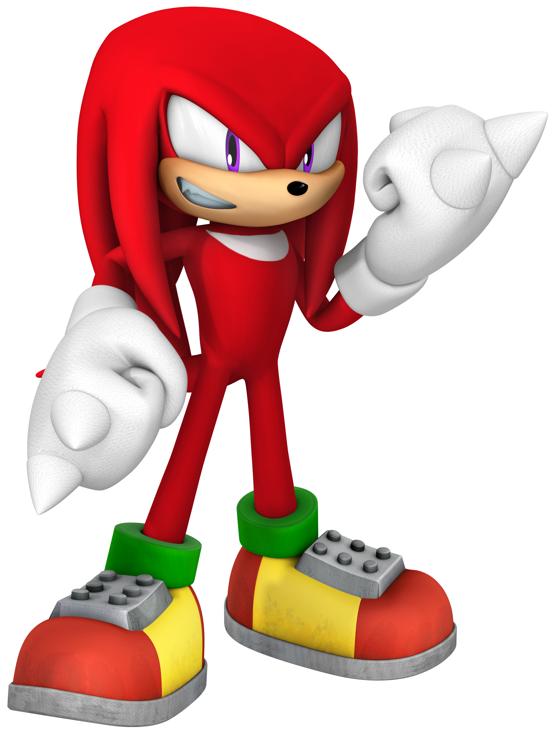 Knuckles glide png. The echidna sonic gx