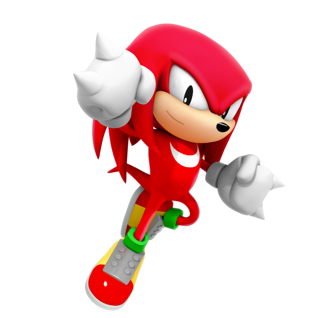 Knuckles glide png. The echidna canon composite