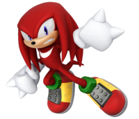 Knuckles hand png. Rocks the competition in