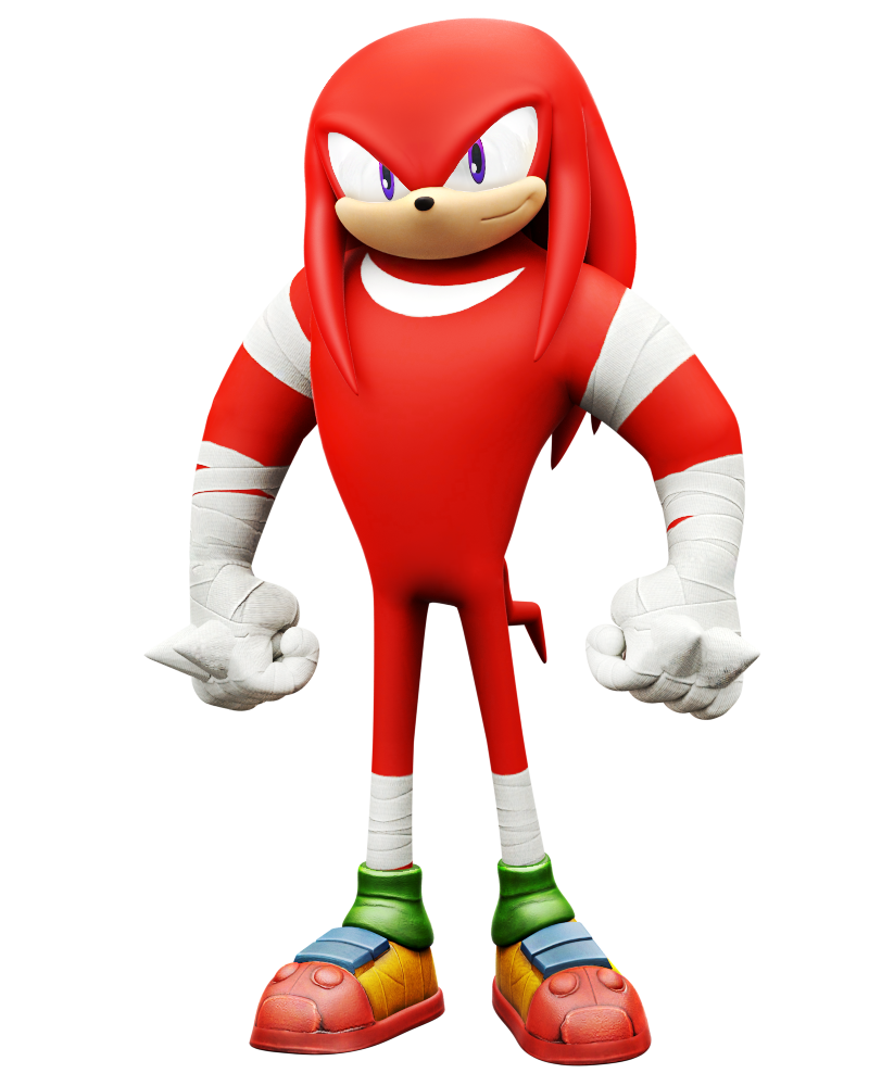 Sonic boom knuckles png. Rise of lyric model