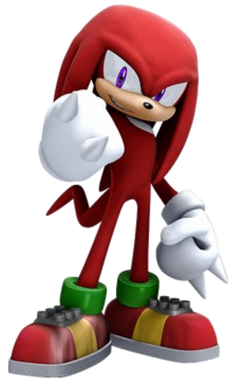 Knuckles .png. Image the echidna png