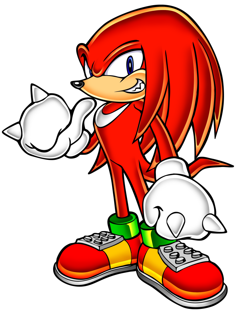 sonic adventure knuckles png