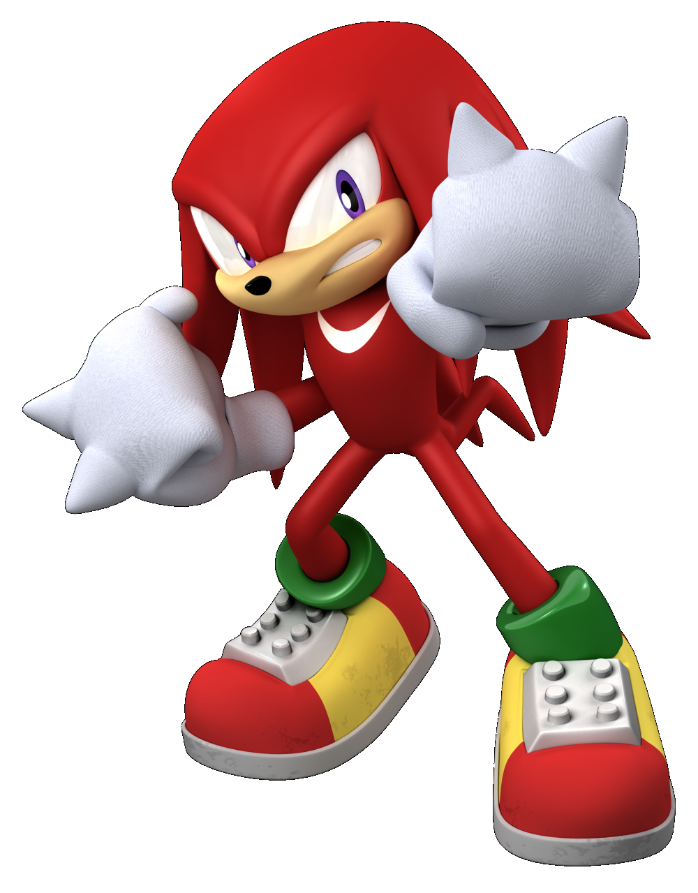 Knuckles the echidna png