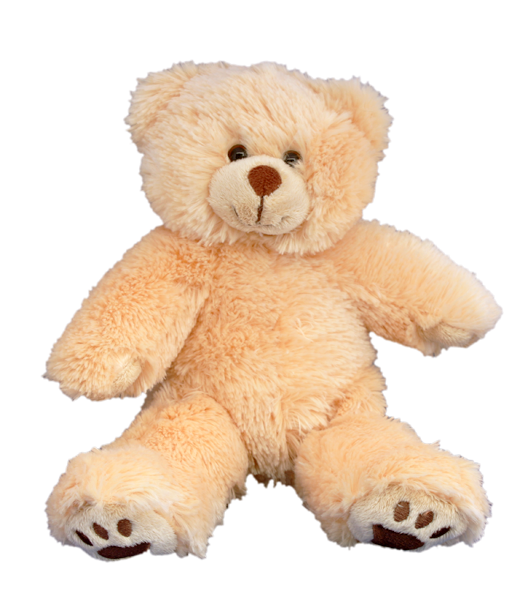 Transparent stuff toy. Teddy mountain the leading