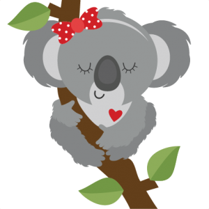 transparent koala svg
