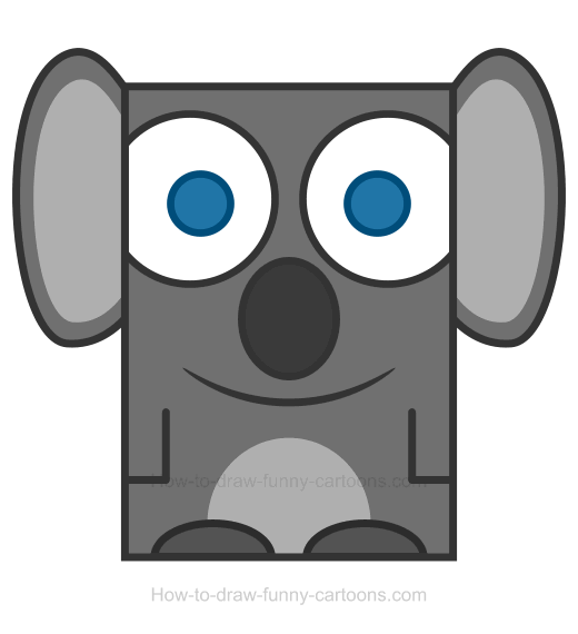 Koala clipart easy. Png how to draw