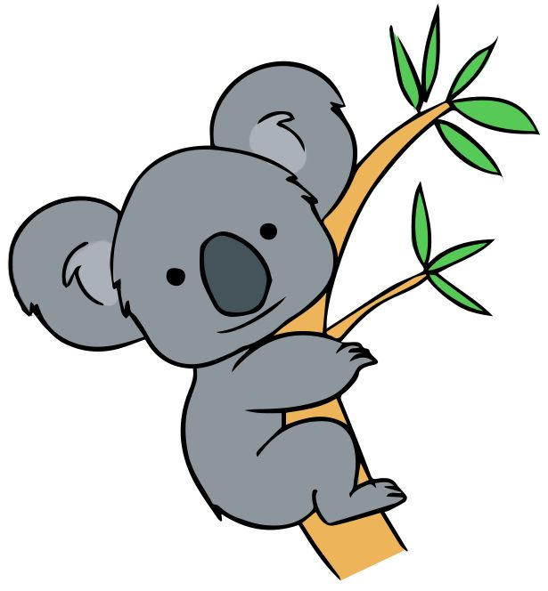Koala clipart wildlife australian. Best k is