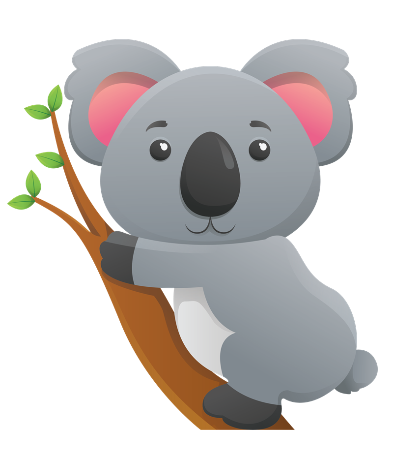 Koala en png. Tree transparent images pluspng