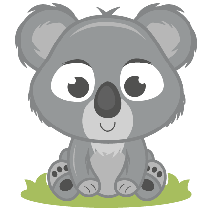 Koala transparent png baby. Images pluspng svg cutting
