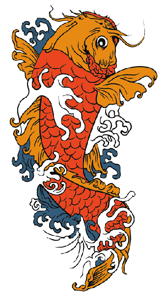 Koi fish png. Tattoos transparent images pluspng