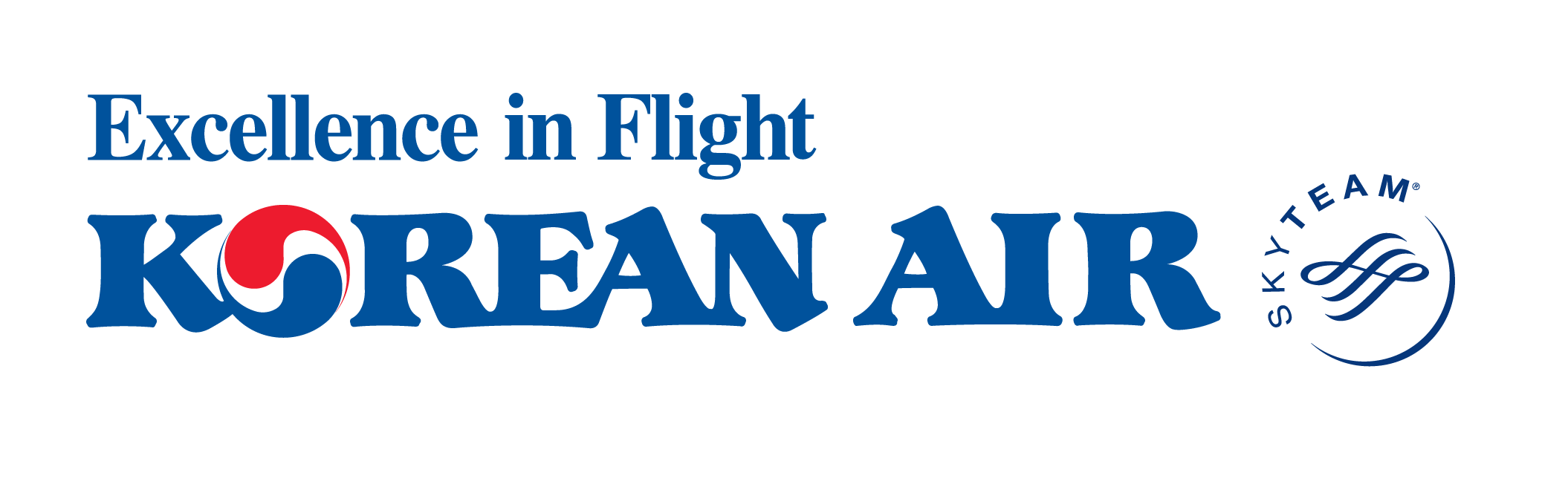 Korean air logo png. Airline ticket check in