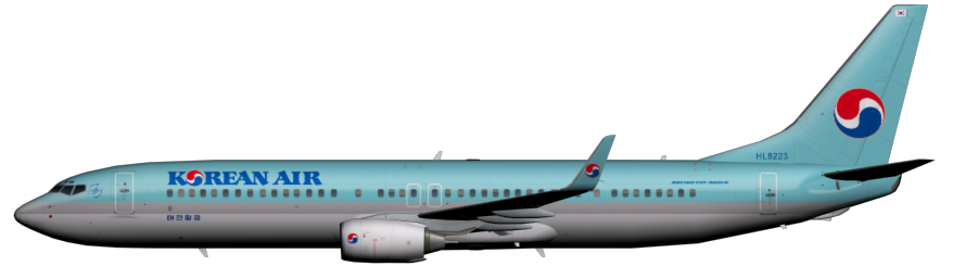 Korean air png. Faib fsx ai bureau