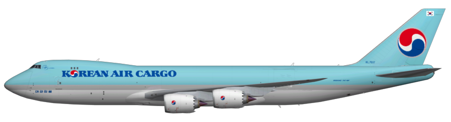 Korean air png. Cargo f faib fsx