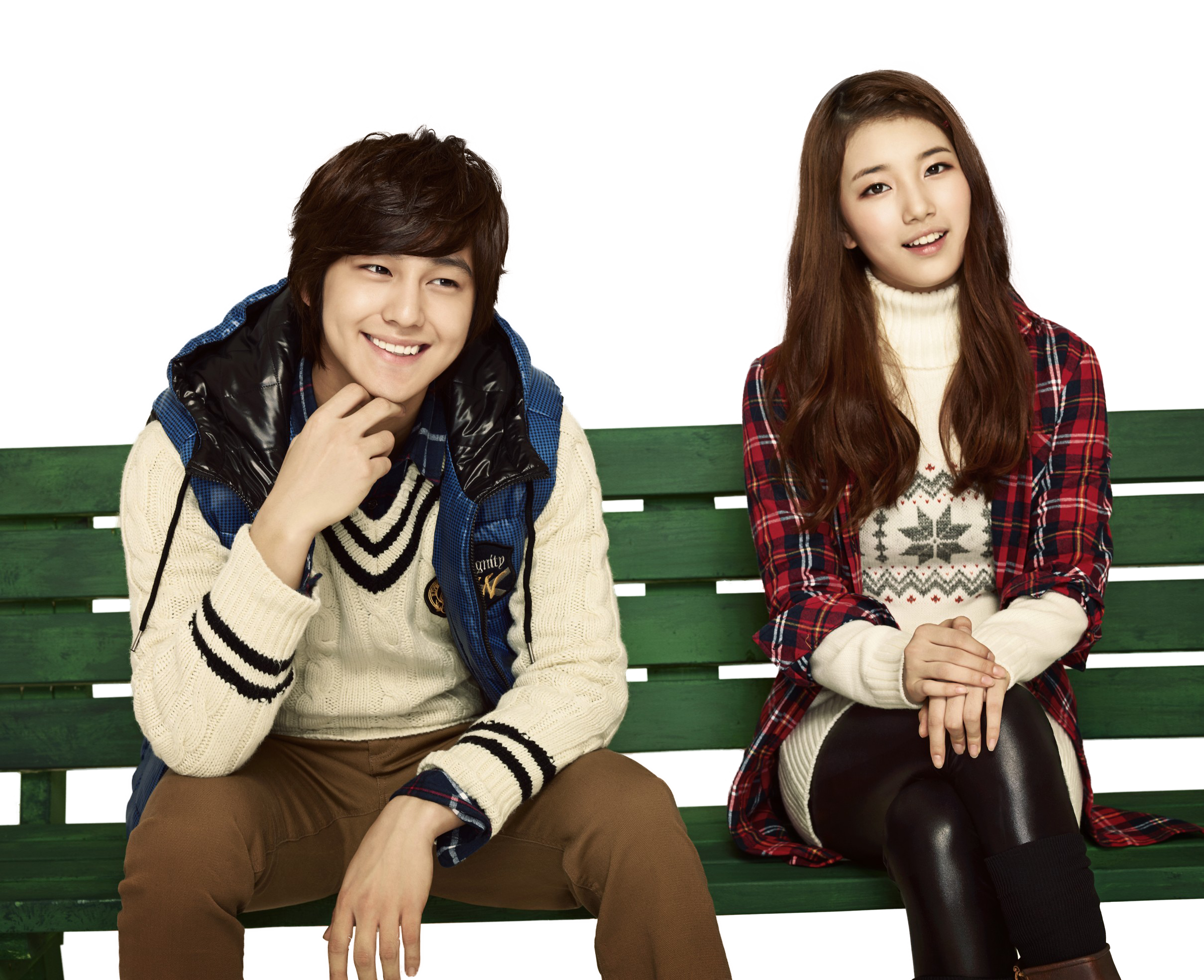 Korean couple png. Suzy miss a y