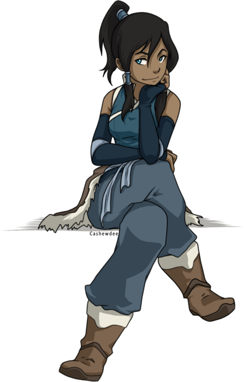 Korra drawing glass. Fan art so excited