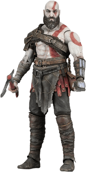 Kratos transparent gow4. Download hd neca god