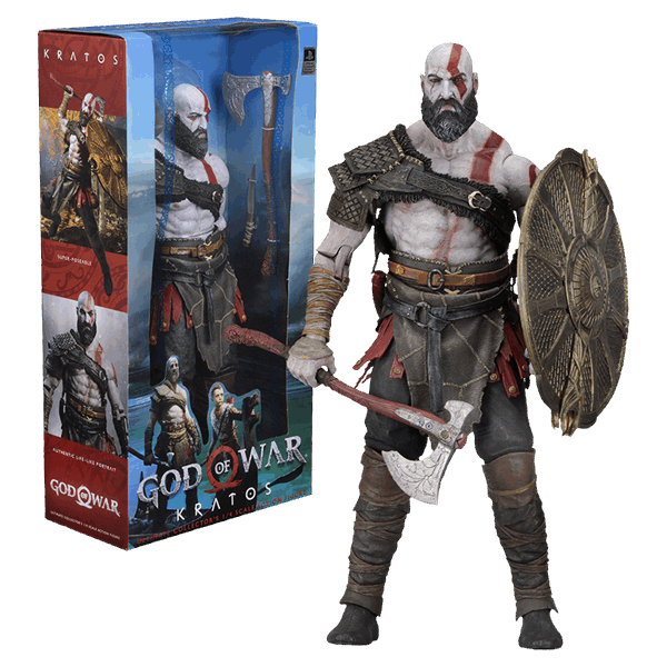 Kratos god of war 4 png. Scale action figure eb