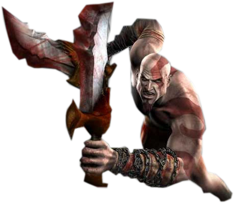 Kratos transparent gow4. God of war png