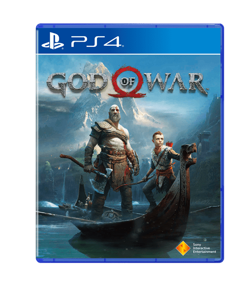 Kratos god of war ps4 png. Will release on april