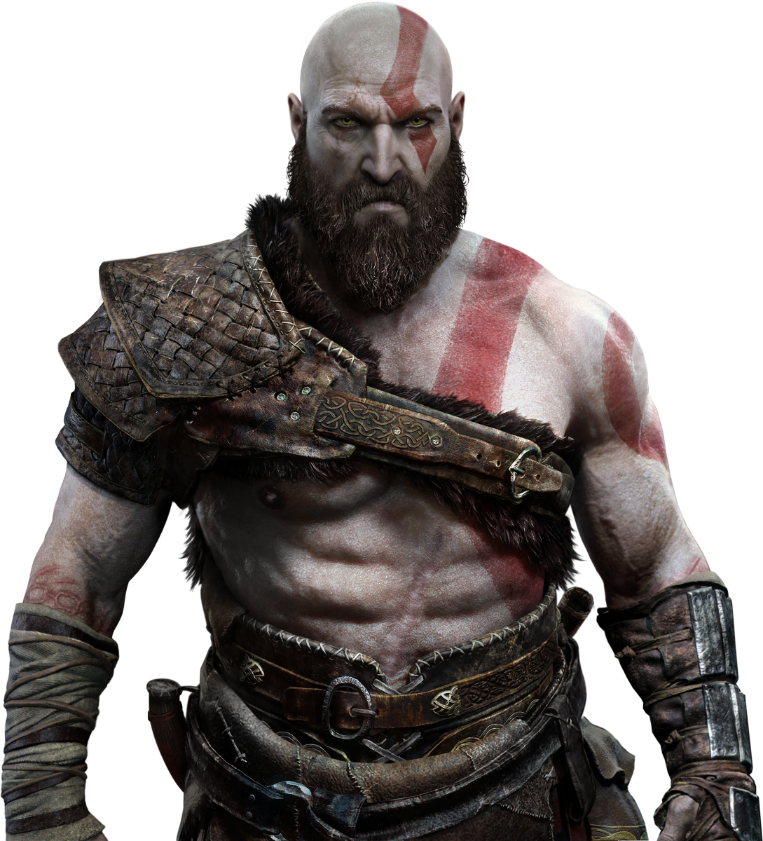 Kratos transparent gow4. God of war how