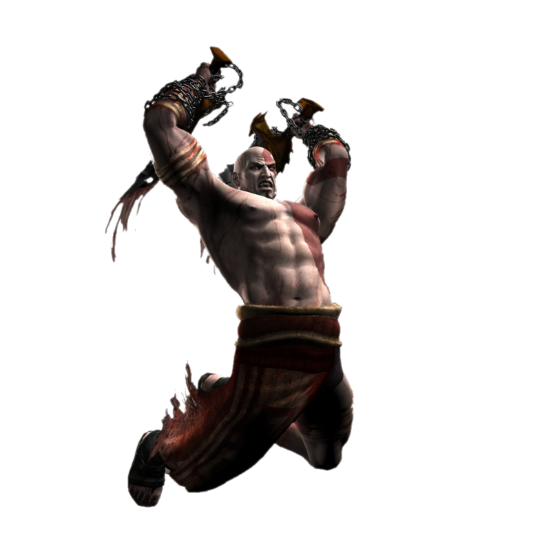 Kratos transparent character. Download free png file