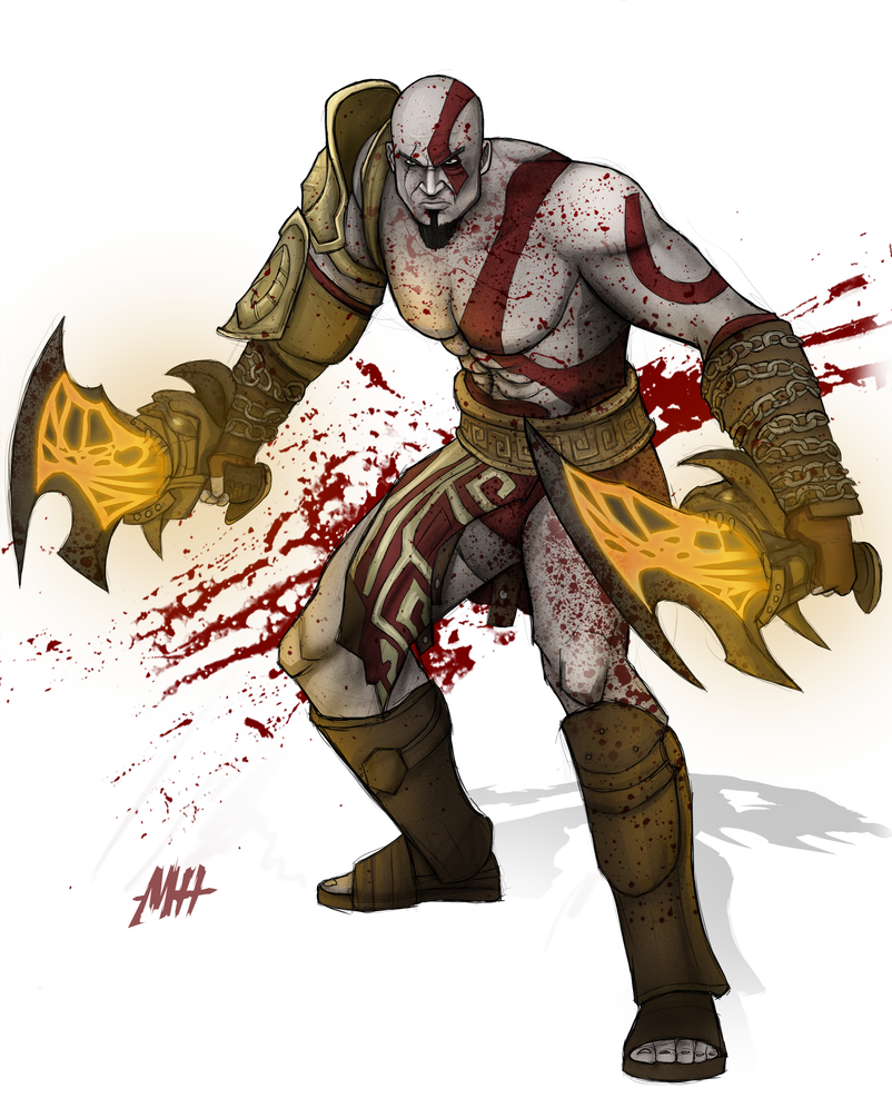 Kratos transparent character. God of war by