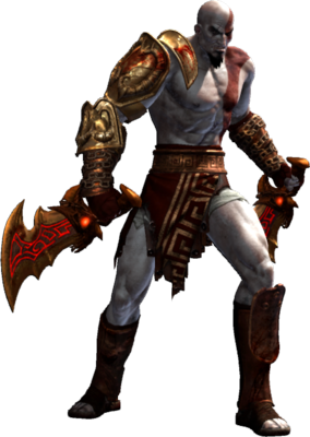 Kratos transparent war 3. Image god of iii