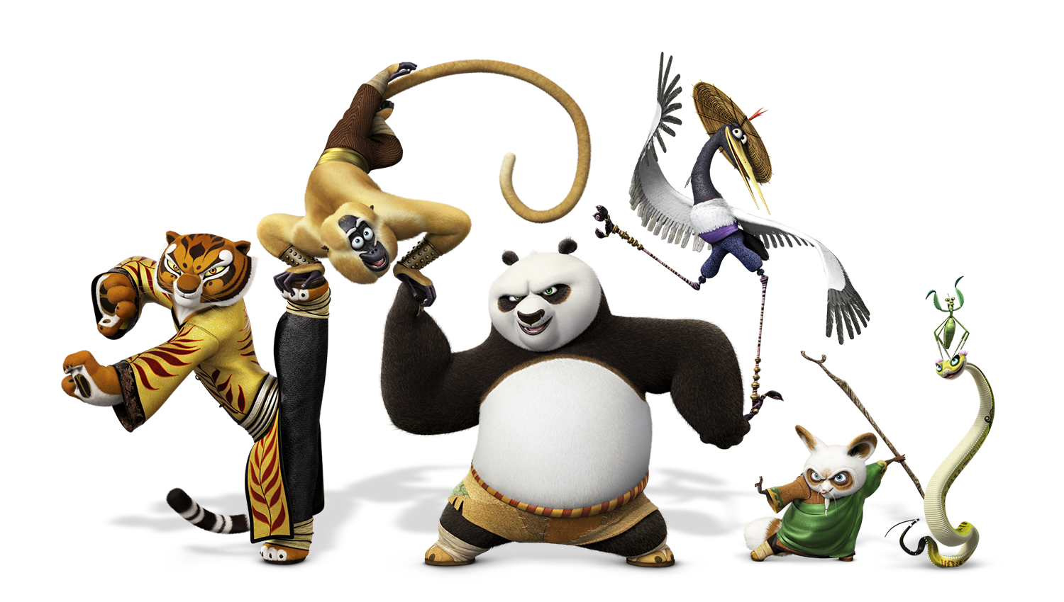 Kung fu panda 3 png. Image po and friends
