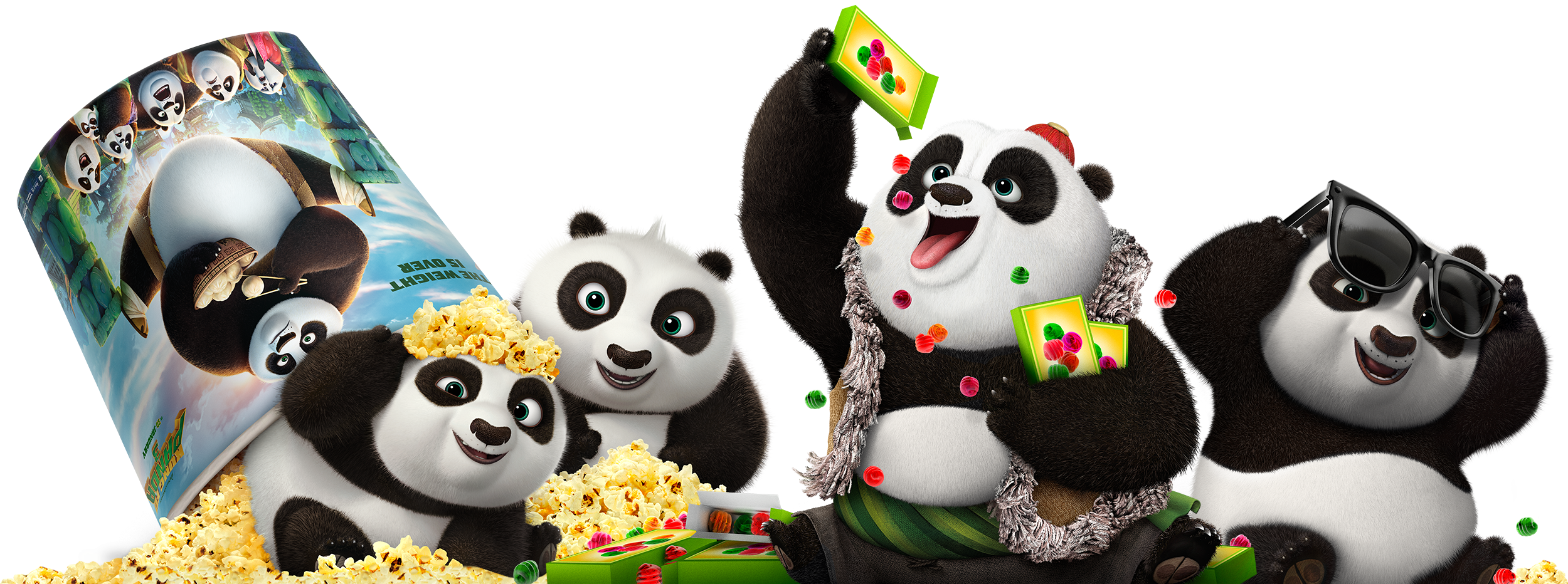 Kung fu panda 3 png. Ten studios clings finishing
