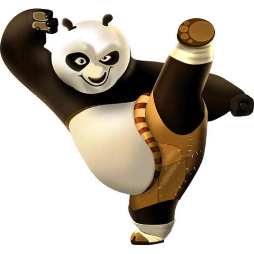 Kung fu panda characters png. Cartoon