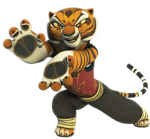 Kung fu panda characters png. Tigress from legends of