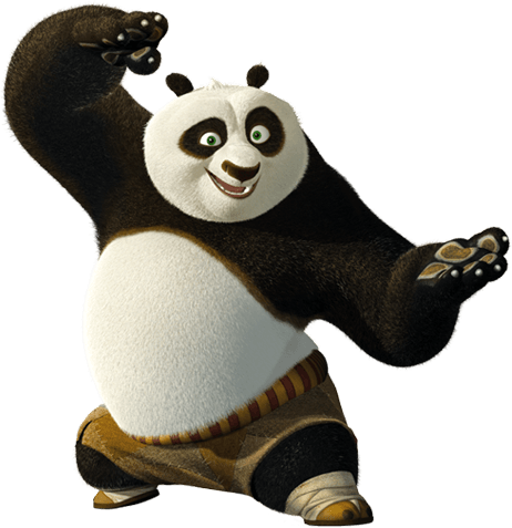 Kung fu panda png. Right fight transparent stickpng