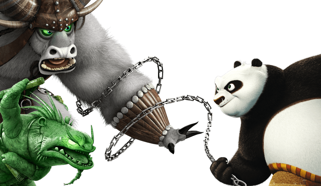 Kung fu panda the. Fights clip clipart free stock