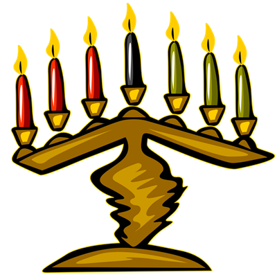 kwanzaa candles png