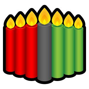 Kwanzaa clipart kwanzaa candle. Candles icons free in