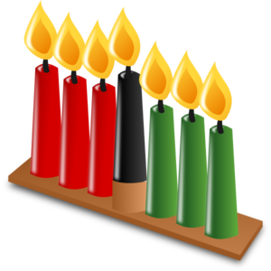 Kwanzaa clipart symbol. Candles clip art at