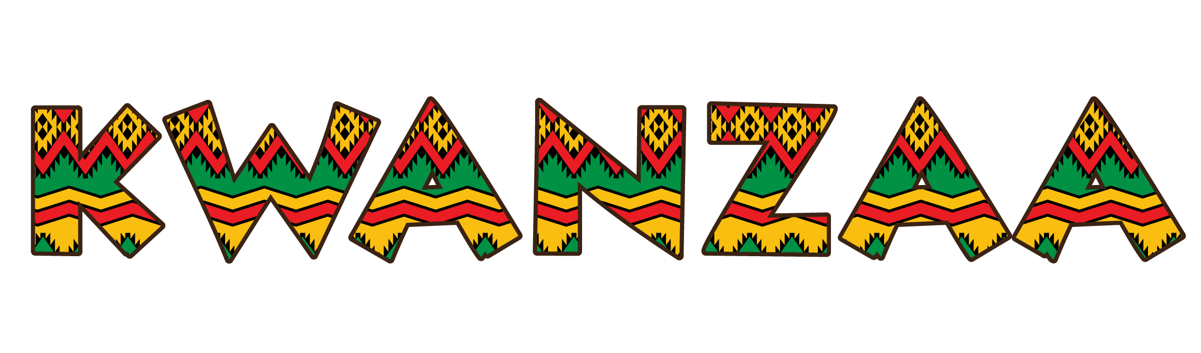 Kwanzaa clipart transparent. Design title pattern filled