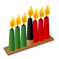 Kwanzaa clipart transparent. Candles png image thumb