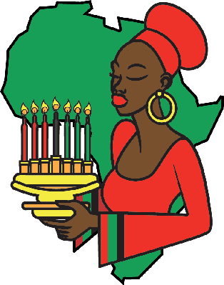 Kwanzaa clipart transparent. Kinara the arts image