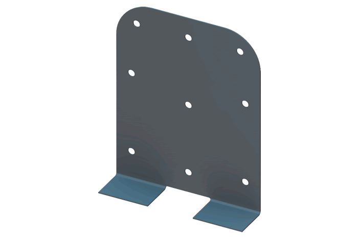 Netting clip kwik. Kb wall support backing