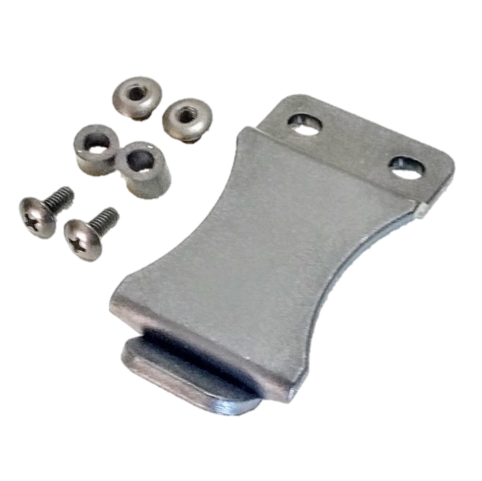 Kydex clip injection molded. C b holsters wide