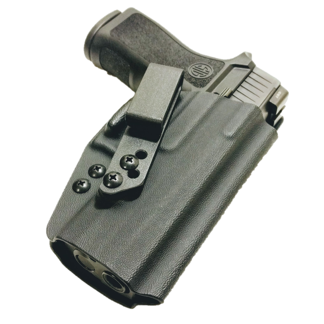 Kydex clip injection molded. C b holsters covert