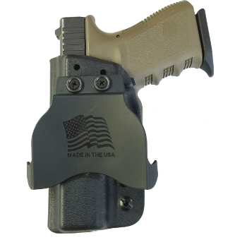 Weapon clip pistol holster. Theisholsters kydex holsters