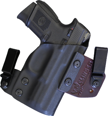Kydex clip iwb holster. Glock concealed carry holsters