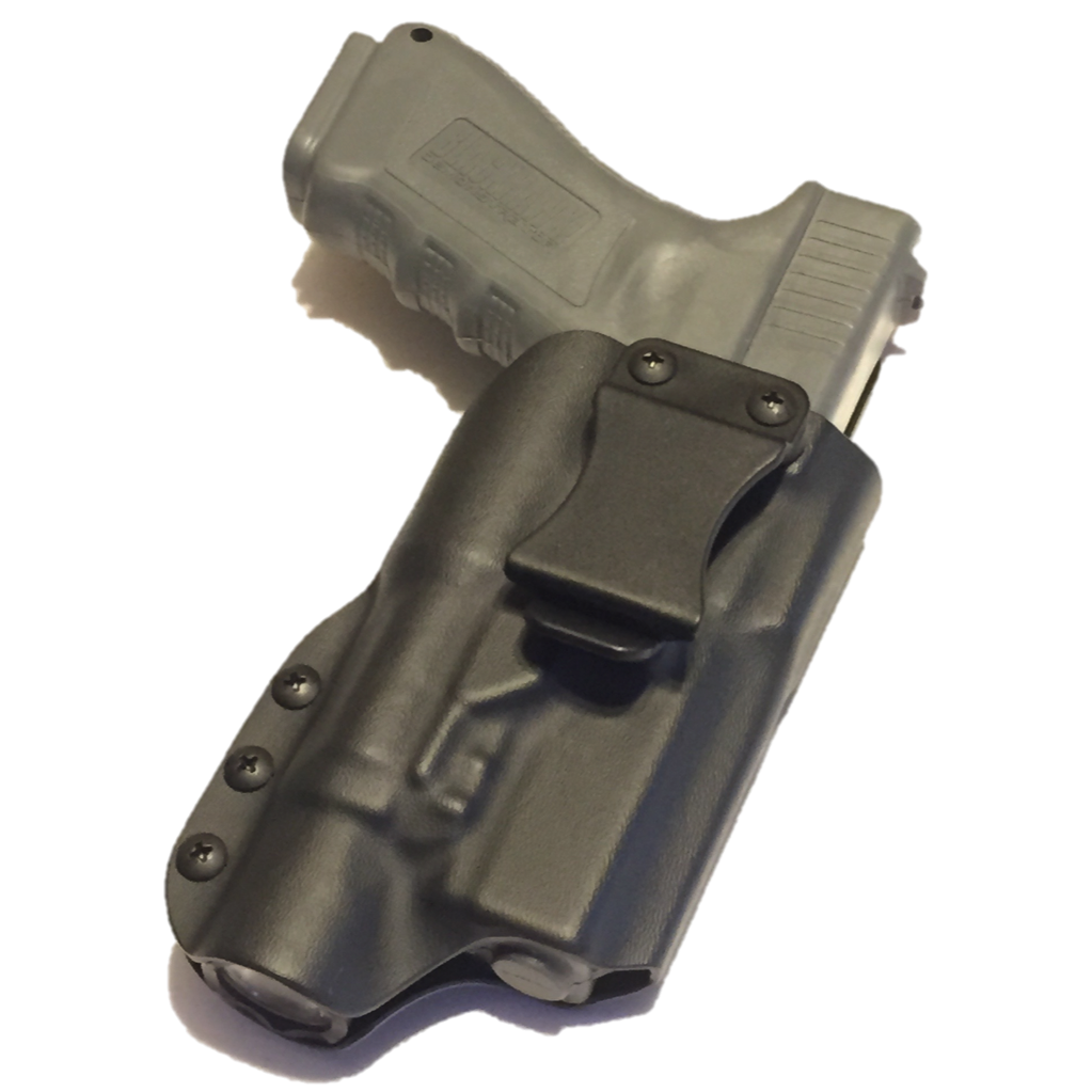 Kydex clip injection molded. C b holsters scout