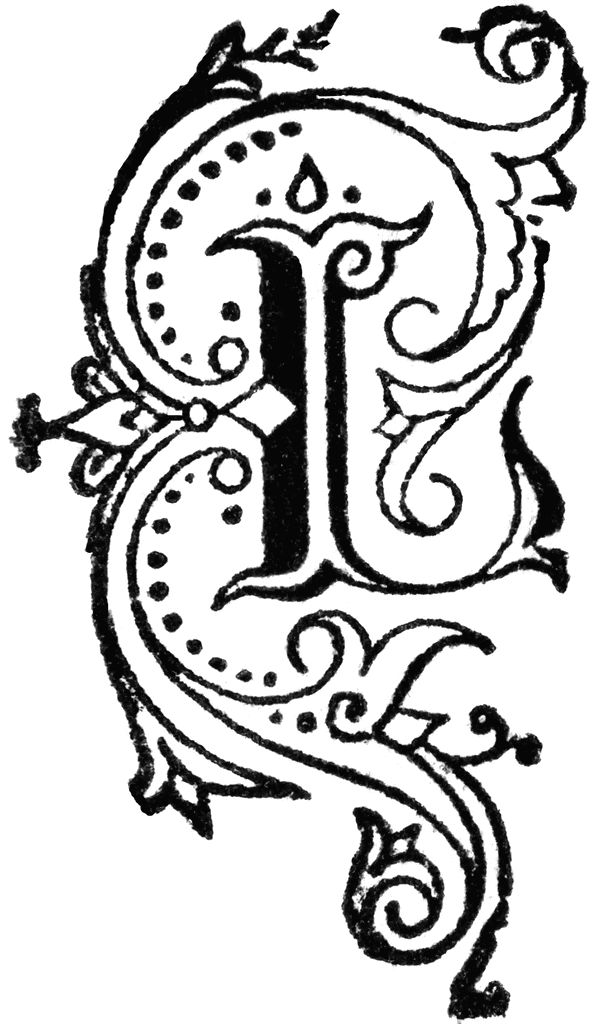 L clipart calligraphy. Best images on