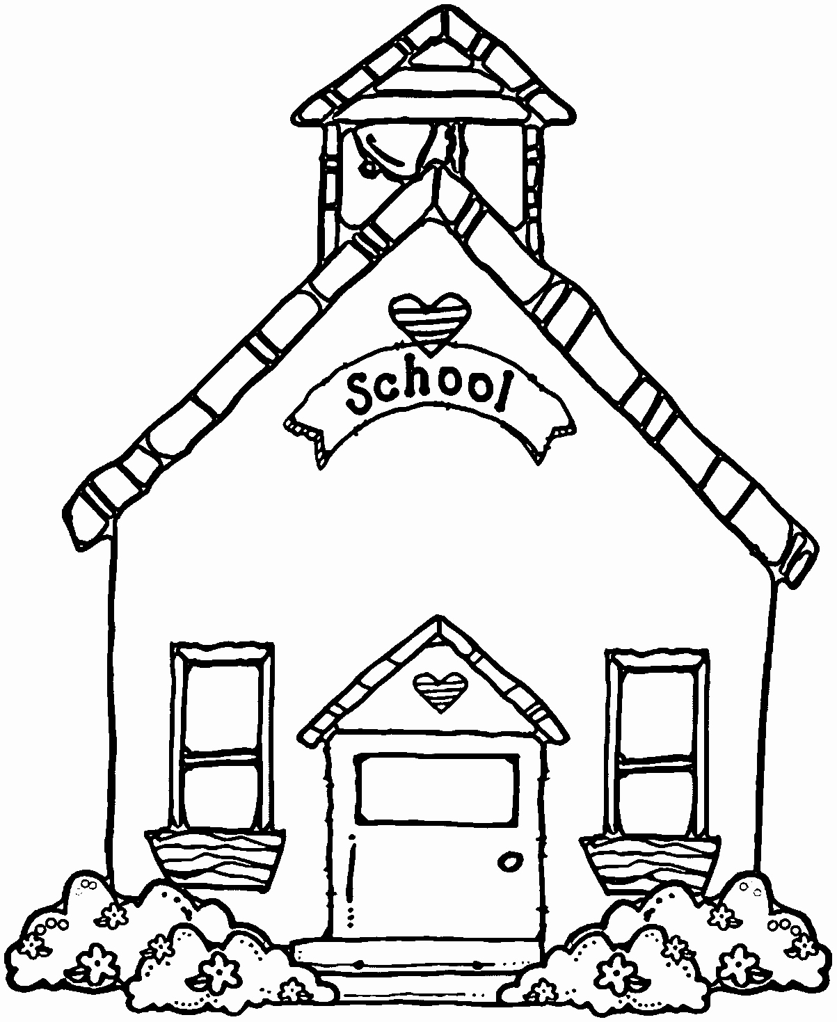 L clipart house. Candy cartoon coloring pages